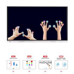 La nidification de la série T6 65 pouces moniteurs à écran plat interactive LED Panel pour salle de classe intelligente
