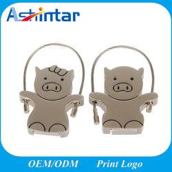 Металлический флэш-памяти USB Disk мультфильм поросенок USB Memory Stick™