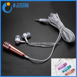 Microphone filaire USB Portable Mini Microphone USB pour téléphone mobile