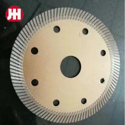 Сверхтонкий тип кривой Diamond режущий диск для резки камня