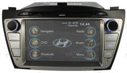 No painel de carro automático multimédia de leitor de DVD de áudio de entretenimento de navegação GPS Bluetooth ++para iPod jogos ++MP3/MP4 para a Hyundai IX35 (C7066HI)