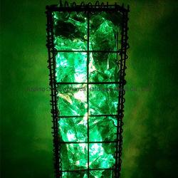 Roccia di vetro formato caldo di vendita del Amazon di grande per l'abbellimento di Gabion