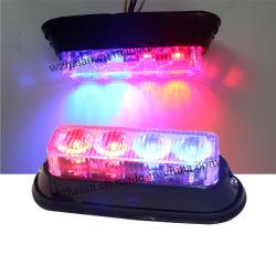 Multi-Color LED de alta potencia las luces intermitentes para Auto (TBF-4691L3-Rojo Azul).