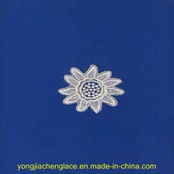 Flor de croché/Algodão Applique (YJC4416)