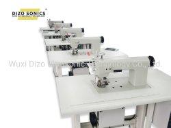 Macchina ultrasonica della saldatura a ultrasuoni della macchina di tessile della macchina per cucire del telaio per pizzi per tessuto