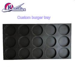 Het commerciële Baksel van de Hamburger 4inch 15cup filtert Non-Stick Multifunctionele Dienbladen van het Baksel/Pan van het Baksel