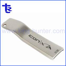 Mini Bolígrafo metálico de la unidad de memoria Flash USB.