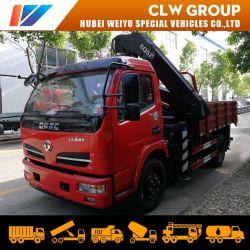 東風事業者サービスナックルブームトラッククレーン 5 トントラック搭載車 クレーン