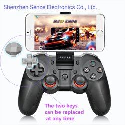 Senze Android/IOS Bluetooth&Wireless 2.4G Gamepad für Mobiltelefon PC/PS3,