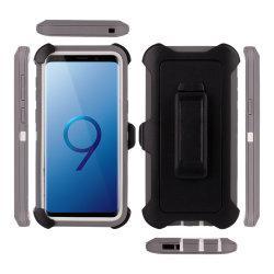 Samsung S9용 내충격 중부하 작업용 홀스터 벨트 클립 케이스 S10 S10e Plus