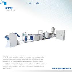 使い捨て可能なプラスチック製品の原料PP PSのPEの押出機機械