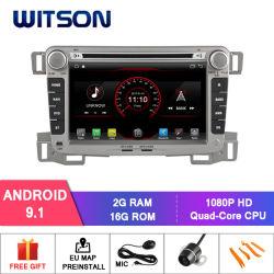 Processeurs quatre coeurs Witson Android 9.1 DVD de voiture GPS pour Chevrolet sel 2009-2013 Appuyer la pleine Sortie vidéo à Sub-Monitor comme lien miroir