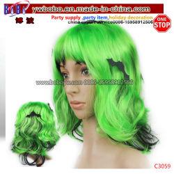 Halloween kostümiert Partei-Perücke-Karnevals-Partei-Feld-Haar-Zubehör (C3059)