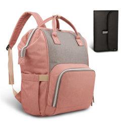 Оптовая торговля Multi-Functional Fengdeng моды мама детский рюкзак Diaper Bag