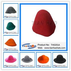 Chapéu de feltro de lã para tampa de lazer do corpo