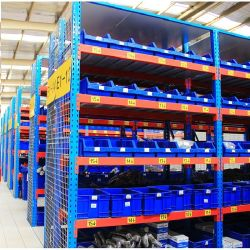 産業用中耐久仕様調整可能スチール倉庫保管タイヤ棚(ロングスパン)
