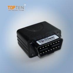 Instalación gratuita de puerto OBD Coche Obdii Tracker GPS/Combustible Odmeter lectura y la velocidad de datos, de diagnóstico de Erro por SMS/GPRS (TK218-JU)
