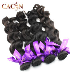 Верхняя высокого качества в реальном Raw Virgin шелк 9A норки индийских волос