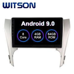 Witson Android 9.0 Radio voiture pour Toyota Camry 2012-2014 4 Go de RAM 64 Go de mémoire Flash grand écran dans la voiture lecteur de DVD