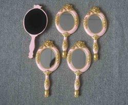 Espejo de Mano de resina