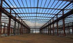 Construction en acier galvanisé H Construction en acier de faisceau