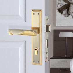 문 기계설비 아연 합금 강철 아연 합금 격판덮개 (HP-S8530)를 가진 알루미늄 문 손잡이