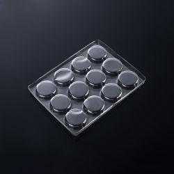 Het duidelijke Plastic Dienblad van de Verpakking van het Voedsel van de Blaar PVC/PET