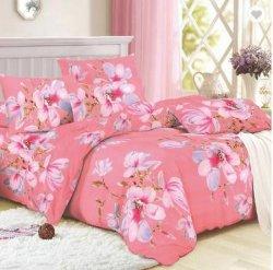 Impreso de cama Tejido de poliéster textil hogar