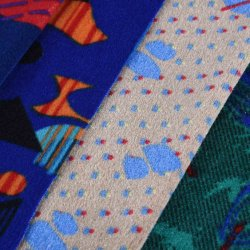 Imprimé 100 % polyester indien voiture Sellerie tissu du siège de voiture