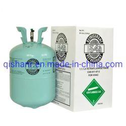 El verde de alta pureza del cilindro de reciclable refrigerante R134A con el cilindro de 30 lb
