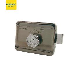 Amplamente usado o botão rotativo para abrir eléctrico de segurança fechadura de porta para Home Office Comunidade