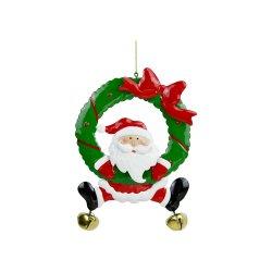Ручная работа Рождество Гарланд висящих оформление Санта Клауса