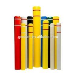 Coperchio della colonna di ormeggio del acciaio al carbonio della strada di sicurezza stradale/plastica del manicotto della colonna di ormeggio della via montata superficie