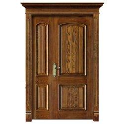 ヨーロッパ式の外部の固体木のドア(YH-1013-1)