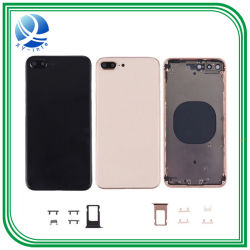 小さい部品ボタンまたは背部ガラスが付いているiPhone 8のプラスカバーのための着色された背部ハウジング