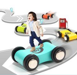 Car Racing Play conjunto de atividades para crianças com brinquedos de madeira para crianças