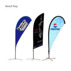 Переработка пользовательского виниловых флаг флаг на пляже баннер перо для сообщества