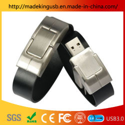 حزام معصم معدني/ محرك أقراص USB محمول Bracelet