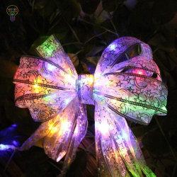 [لد] زخرفيّة أضواء وشاح [ويندوو كرتين] أضواء