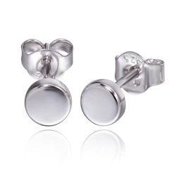 Золотые серьги для женщин крошечных точек серьги стерлингов серебряные серьги