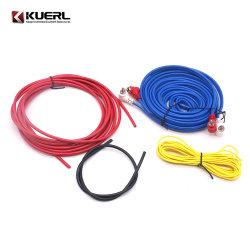 Disponen de existencias de cobre puro de calibre 10 Amplificador para coche profesional Kit de cableado Cable de audio