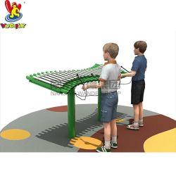 Strumento musicale di musica della strumentazione del campo da giuoco dei giocattoli dei bambini del parco di divertimenti esterno del gioco