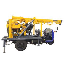 ماكينة الثقب المثبتة بالجرار 200m حفر بئر مياه المقطورة رخيصة الآلة