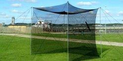 Polietileno PE anudados Sport Net Fo tenis/Cricket/Fútbol/Baseball/puerta de fútbol de pequeño tamaño