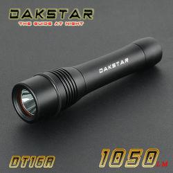 Dakstar Dt16A КРИ XML T6 1050лм 26650/18650 аккумулятор из алюминия Superbright LED IPX8 снаряжение для дайвинга горелки (DT16A)