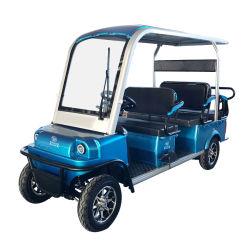 HOTEL-elektrisches Golf-Auto China-4 Seater batteriebetriebenes klassisches Minibesichtigen