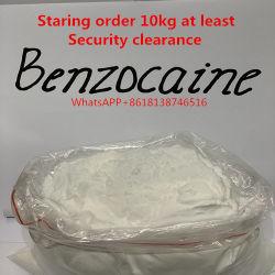 Ontruiming van de Veiligheid van Benzocaine USP Bp van de Zuiverheid van 99% de Standaard