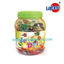 단지에 있는 Halal 음식 Fruti 묵 음료