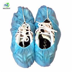 Copriscarpe monouso non tessuto copriscarpe con elastico sul fondo e apertura