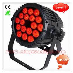 IP65 18*10W RGBW WATERDICHTE LED PAR-LAMP (YS-107)